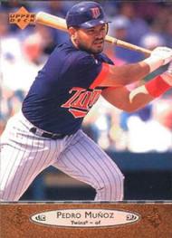 1996 Upper Deck #129 Pedro Munoz VG Minnesota Twins