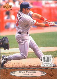 1996 Upper Deck #128 Ron Coomer VG Minnesota Twins