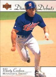 1995 Upper Deck #250 Marty Cordova VG Minnesota Twins
