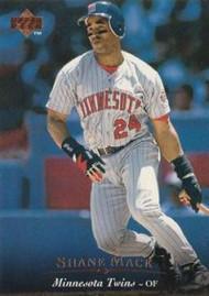 1995 Upper Deck #190 Shane Mack VG Minnesota Twins