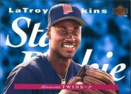 1995 Upper Deck #223 LaTroy Hawkins SR VG RC Rookie Minnesota Twins