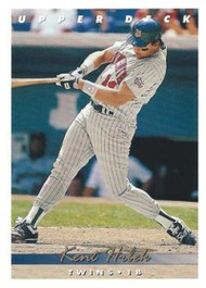 1993 Upper Deck #74 Kent Hrbek VG Minnesota Twins