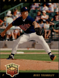 1993 Upper Deck #28 Mike Trombley VG Minnesota Twins