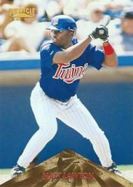 1996 Pinnacle #168 Matt Lawton VG RC Rookie Minnesota Twins