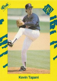 1990 Classic Yellow #16 Kevin Tapani VG Minnesota Twins