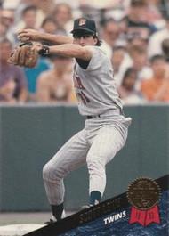 1993 Leaf #208 Scott Leius VG Minnesota Twins