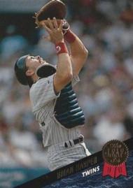 1993 Leaf #186 Brian Harper VG Minnesota Twins