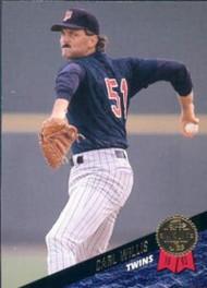 1993 Leaf #164 Carl Willis VG Minnesota Twins