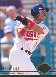 1994 Ultra #386 Alex Cole VG Minnesota Twins