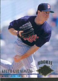1994 Ultra #388 Keith Garagozzo VG RC Rookie Minnesota Twins