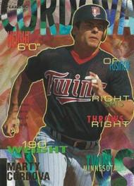 1995 Fleer #199 Marty Cordova VG Minnesota Twins