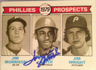 Lonnie Smith Autographed 1979 Topps #722