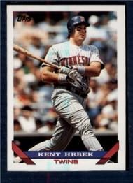 1993 Topps #9 Kent Hrbek VG Minnesota Twins