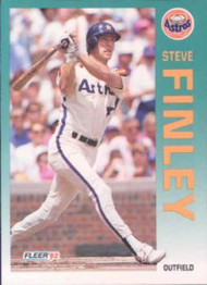 1992 Fleer #433 Steve Finley VG Houston Astros
