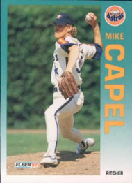 1992 Fleer #429 Mike Capel VG Houston Astros