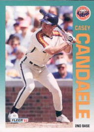 1992 Fleer #428 Casey Candaele VG Houston Astros