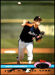 1992 Stadium Club Dome #77 Pete Harnisch VG Houston Astros
