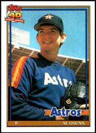 1991 Topps #149 Al Osuna UER VG RC Rookie Houston Astros