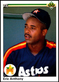 1990 Upper Deck #28 Eric Anthony VG RC Rookie Houston Astros