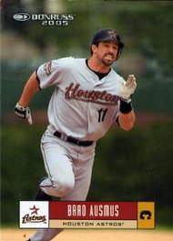 2005 Donruss #201 Brad Ausmus VG Houston Astros