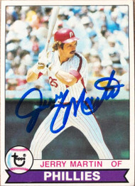 Jerry Martin Autographed 1979 Topps #382
