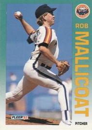 1992 Fleer #440 Rob Mallicoat VG Houston Astros