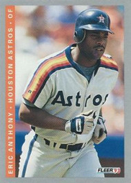 1993 Fleer #45 Eric Anthony VG Houston Astros