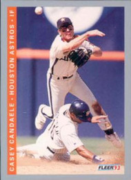 1993 Fleer #49 Casey Candaele VG Houston Astros