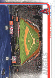 2019 Topps #26 Angel Stadium NM-MT Los Angeles Angels