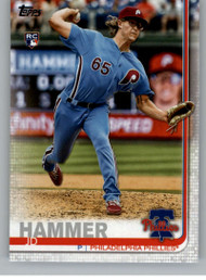 2019 Topps Update #US27 JD Hammer NM-MT RC Rookie Philadelphia Phillies