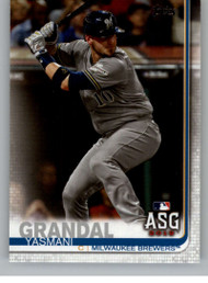 2019 Topps Update #US13 Yasmani Grandal NM-MT Milwaukee Brewers