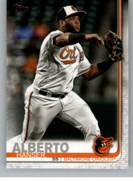 2019 Topps Update #US30 Hanser Alberto NM-MT Baltimore Orioles