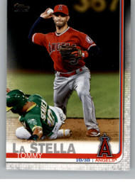 2019 Topps Update #US29 Tommy La Stella NM-MT Los Angeles Angels