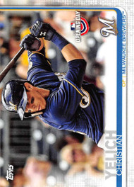 2019 Topps Opening Day #39 Christian Yelich NM-MT Milwaukee Brewers
