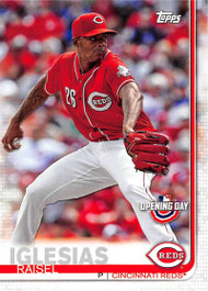 2019 Topps Opening Day #27 Raisel Iglesias NM-MT Cincinnati Reds