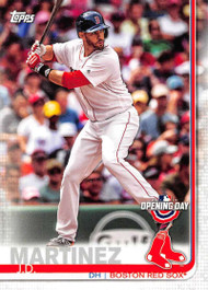 2019 Topps Opening Day #93 J.D. Martinez NM-MT Boston Red Sox