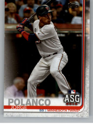 2019 Topps Update #US10 Jorge Polanco NM-MT Minnesota Twins