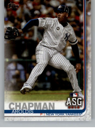 2019 Topps Update #US7 Aroldis Chapman NM-MT New York Yankees