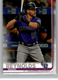 2019 Topps Update #US26 Mark Reynolds NM-MT Colorado Rockies