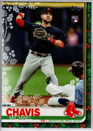 2019 Topps Holiday #HW23 Michael Chavis NM-MT  RC Rookie Boston Red Sox