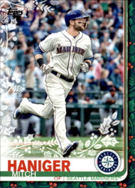 2019 Topps Holiday #HW14 Mitch Haniger NM-MT  Seattle Mariners