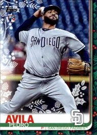 2019 Topps Holiday #HW21 Pedro Avila NM-MT  RC Rookie San Diego Padres