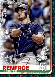 2019 Topps Holiday #HW13 Hunter Renfroe NM-MT  San Diego Padres