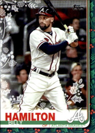 2019 Topps Holiday #HW17 Billy Hamilton NM-MT  Atlanta Braves