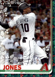 2019 Topps Holiday #HW4 Adam Jones NM-MT  Arizona Diamondbacks
