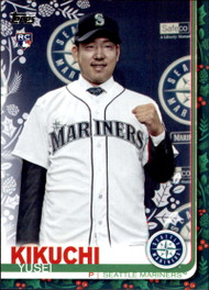 2019 Topps Holiday #HW19 Yusei Kikuchi NM-MT  RC Rookie Seattle Mariners