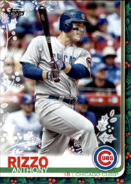 2019 Topps Holiday #HW26 Anthony Rizzo NM-MT  Chicago Cubs
