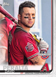 2019 Topps Opening Day #92 David Peralta NM-MT Arizona Diamondbacks