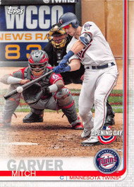 2019 Topps Opening Day #103 Mitch Garver NM-MT Minnesota Twins