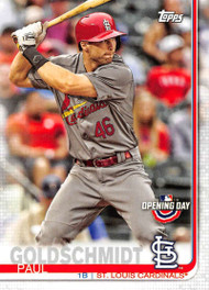 2019 Topps Opening Day #94 Paul Goldschmidt NM-MT St. Louis Cardinals